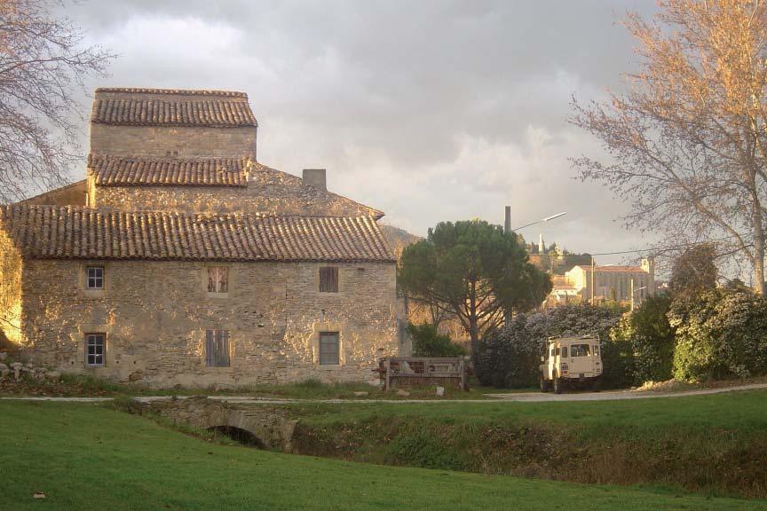 Extérieur du Moulin de la Ramière. Photo G. Paoletta.