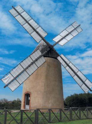 Moulin de Montbrun Lauragais (Photo M-C Rivet)