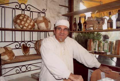 Paul Amoros le magicien, meunier, boulanger, poète - photo M.Pannetier