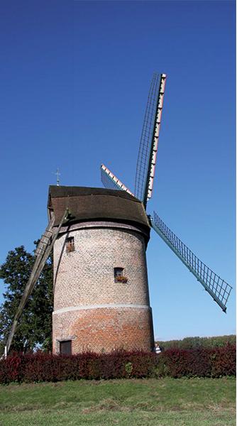 Le moulin de Vertain à Templeuve