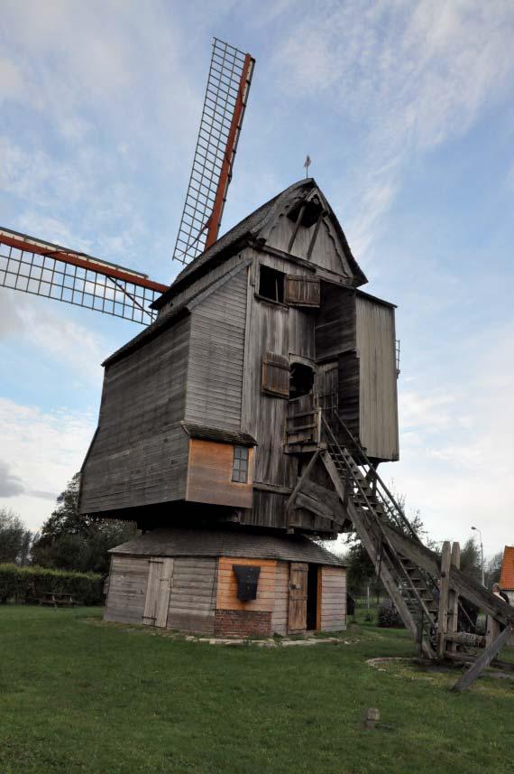 Extérieur du moulin Deschodt