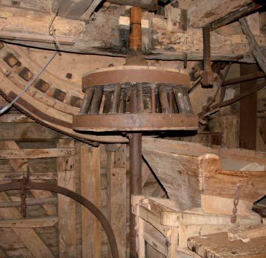 Intérieur du moulin Deschodt