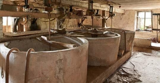Fig 7- Les trois cuves de lavage de la fécule. Bertrand Drapier - Région Lorraine - Inventaire général.