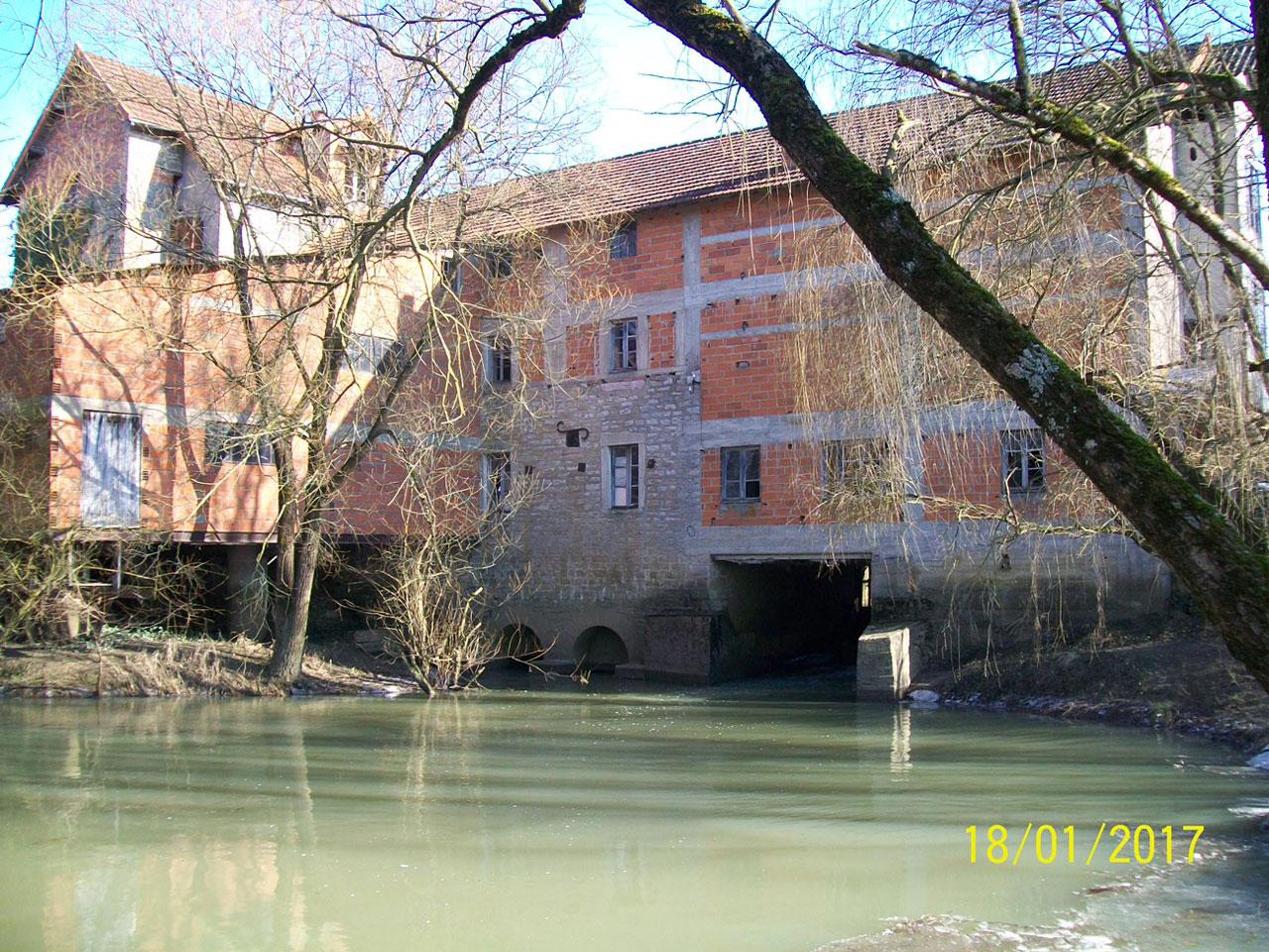 Le Moulin Mathy à Montpont-en-Bresse. Photo Jean-Pierre Mathy