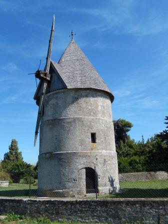 Le moulin de La Brée-les-Bains