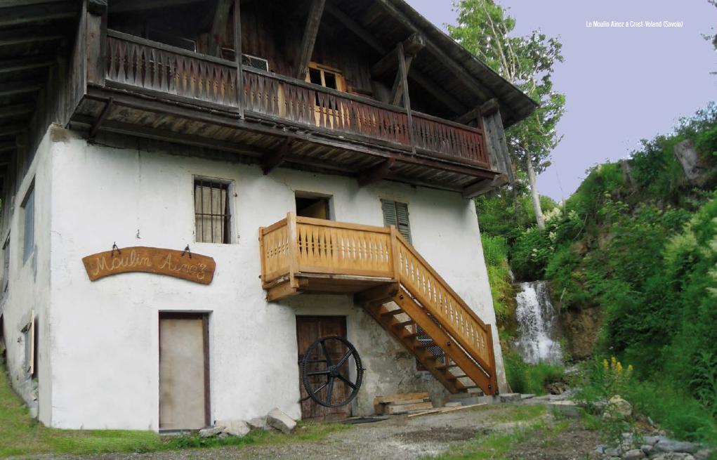 Le Moulin Ainoz à Crest-Voland (Savoie)