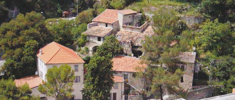Vue aérienne des moulins. Photo Association de Sauvegarde du Patrimoine.