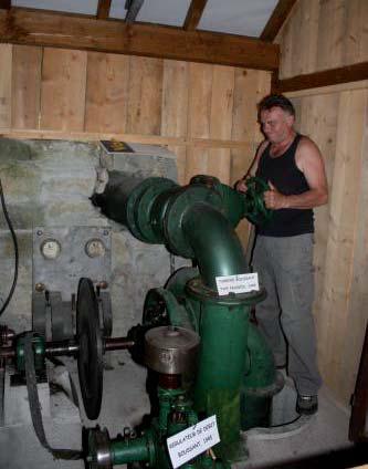 Arith : la turbine type Francis et M. Morand