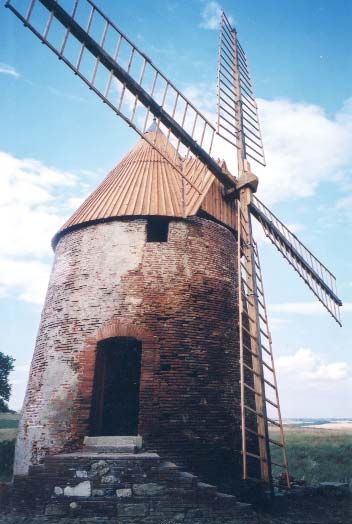 Le moulin après. photo André Roou