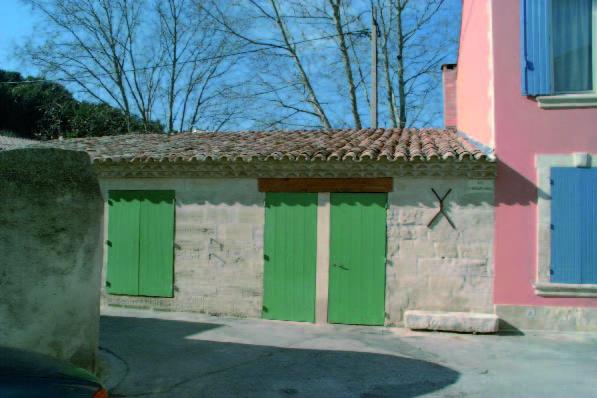 Extérieur du moulin en 2004 - photo P.Crapé