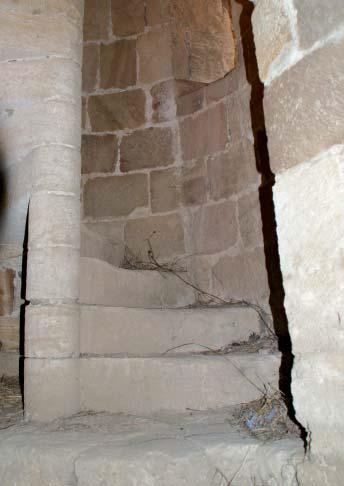 Moulin de Canet - Escalier intérieur - Photo JL.Zerr.