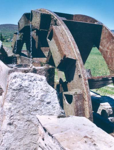 Les meuses de Cazilhac. Photo G. Biotteau