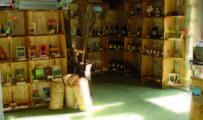 boutique du moulin, local d'accueil - photo Ecologia