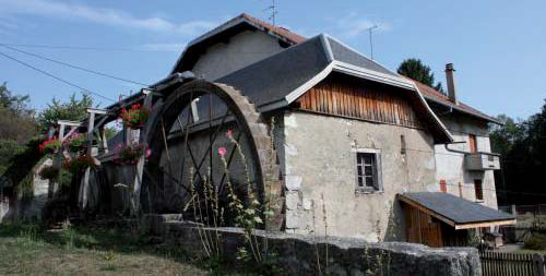 Site du Chatelet à Cornier