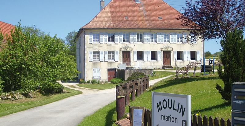 Le bâtiment d'habitation, la partie de gauche sur la photo précédente. Photo Jean-Marie Jacquel