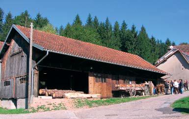 Musée du bois à Saulxures au Droit du Rupt de Bâmont - photo Y.Ruel