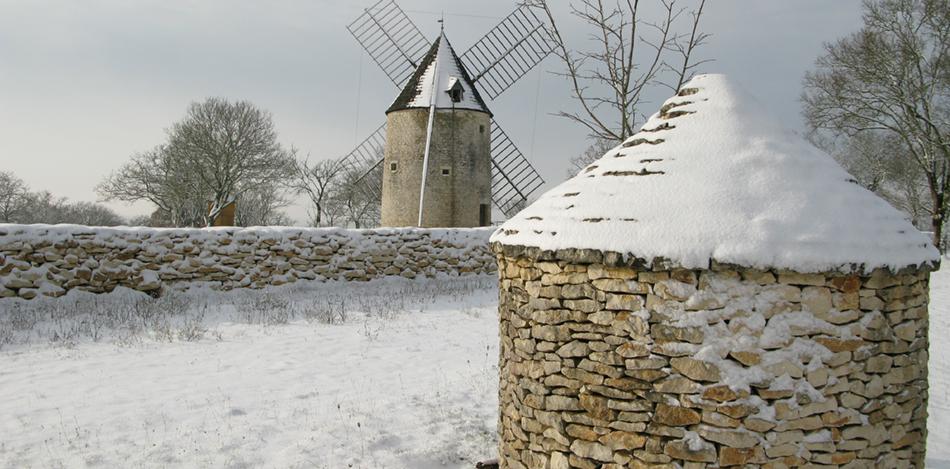 Moulin à vent de Lacomté