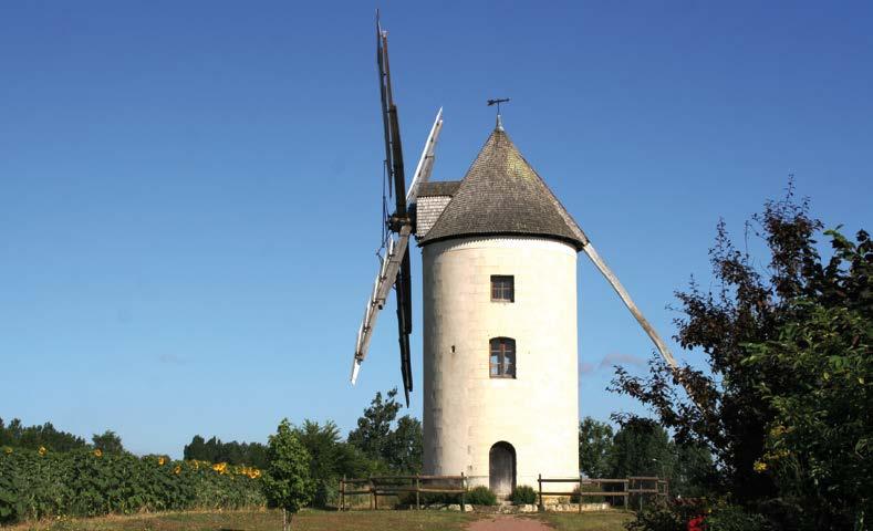 Moulin du Gué Sainte-Marie. Photo COMMUNAUTE DE COMMUNES DU PAYS LOUDUNAIS