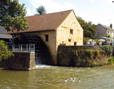 Moulin de La Bruère - Cliché mairie de La Flèche