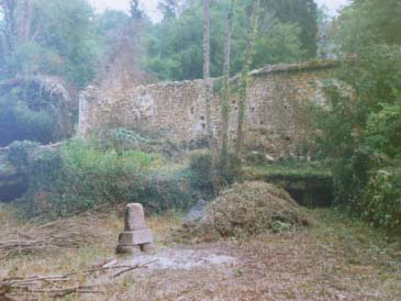 Le moulin en 1989. Photo A. Perrier