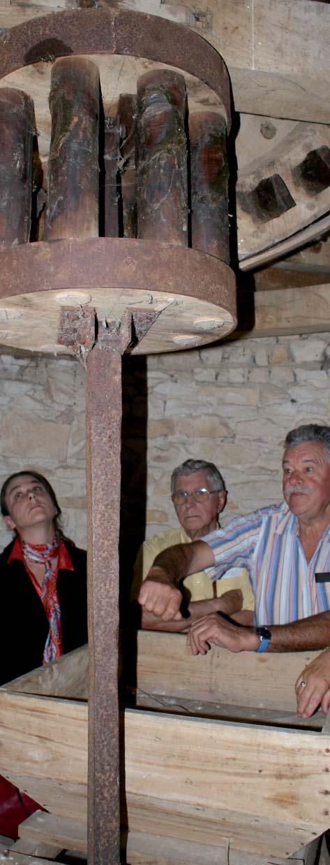 Visite au moulin de Tol. Photo Charpentier