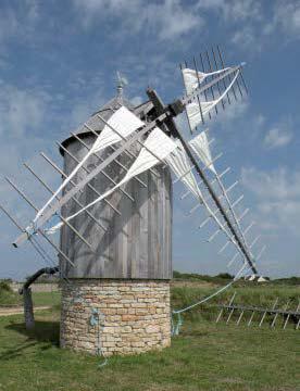 Moulin à vent Trouguer. Photo Ouest France