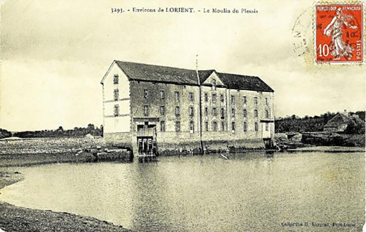 Moulin du Plessis - Fonds Leclère légué aux Archives municipales