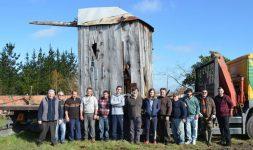 Portugal : Moulins à vent giratoires de la région d'Aveiro