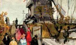 Pays-Bas : Le Musée de Fundaties à Zwolle expose jusque début juillet « le Moulin Blute-Fin » récemment authentifié de Van Gogh