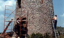 Le moulin de La Couvertoirade, de la ruine à la réhabilitation – Entretien avec Bernard Badaroux, charpentier du moulin
