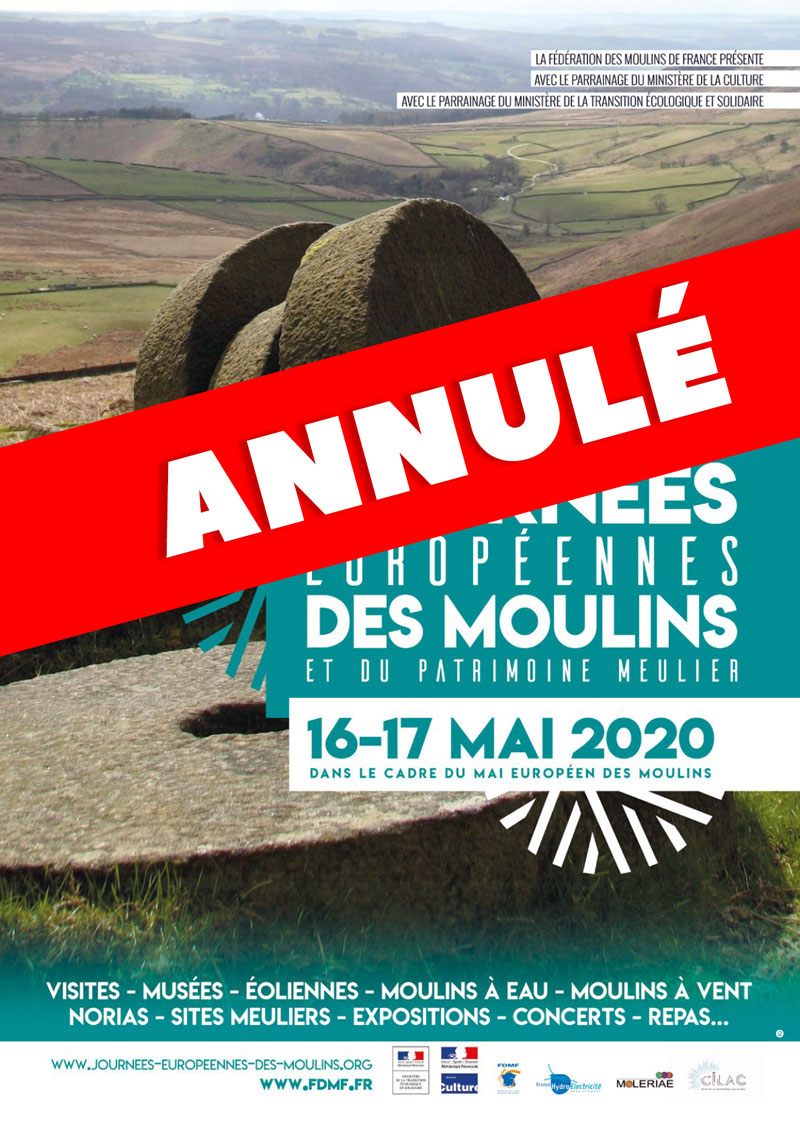 Annulation des Journées des Moulins 2020 > Fédération des Moulins ...