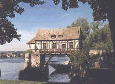 Le vieux moulin de Vernon - photo http://giverny.org/