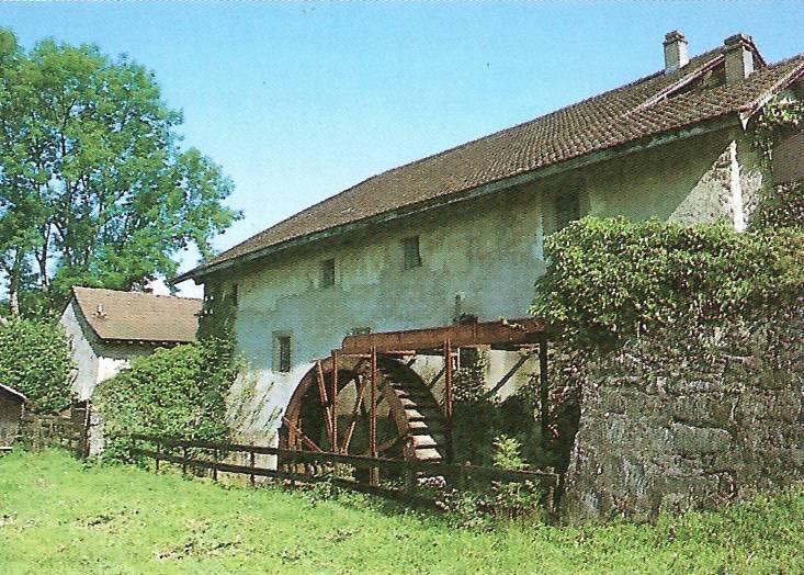 Bédières et moulins de Passy