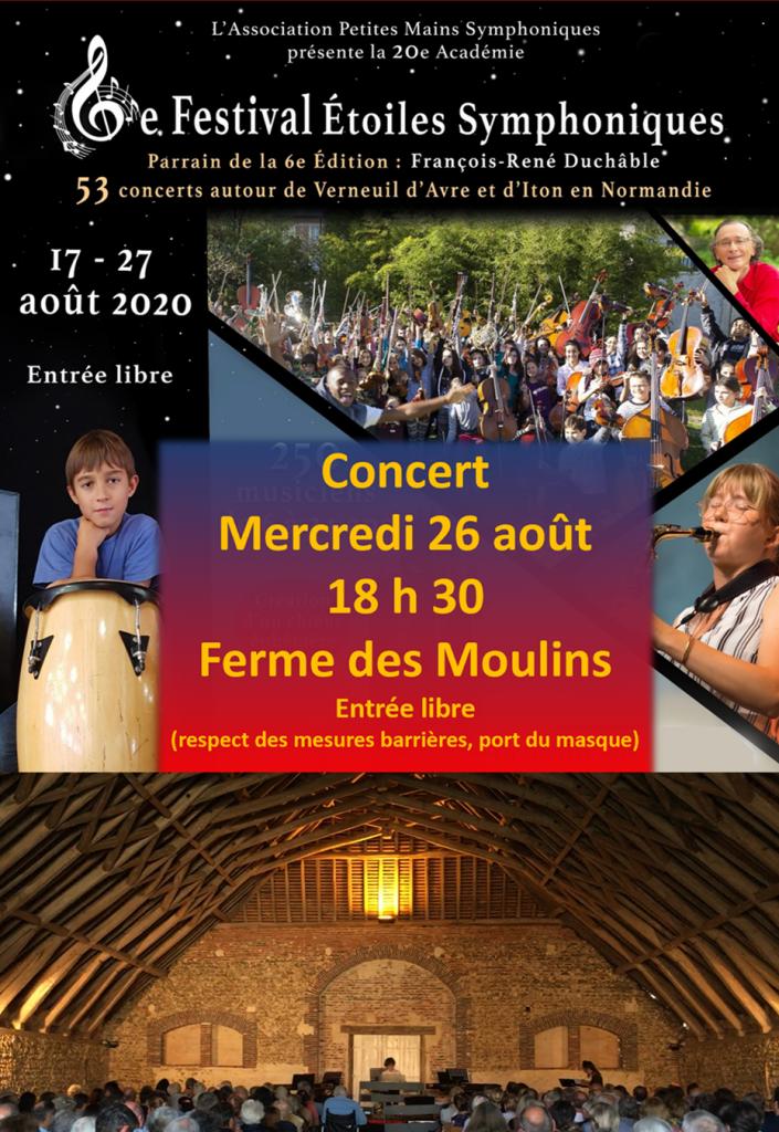 La grange de la Ferme des Moulins à Maillebois (Eure et Loire)