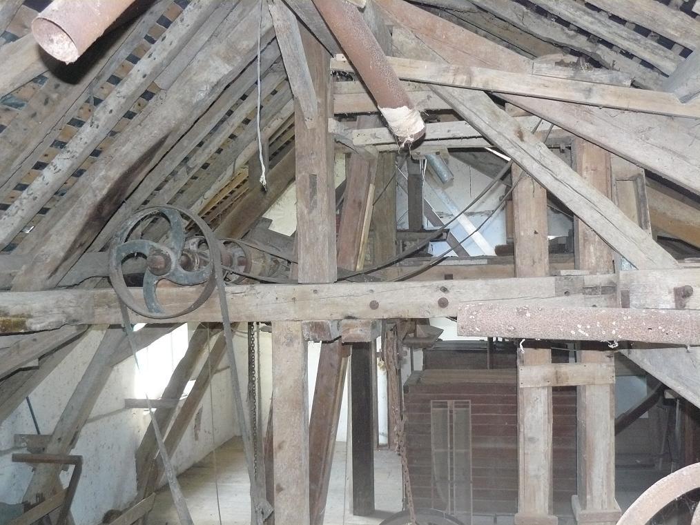 intérieur-moulin 72 Rouez