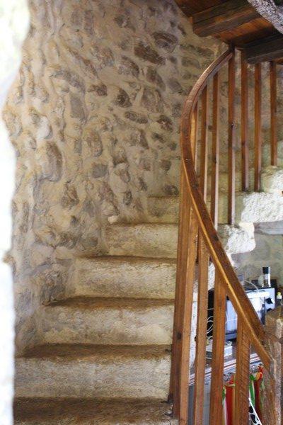 Escalier du Moulin de Saint-Cricq - photo Christine Barailhé Castéran
