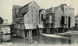 Il y a 100 ans, le 16 juin 1920, l'incendie des moulins de Meaux (Seine-et-Marne)