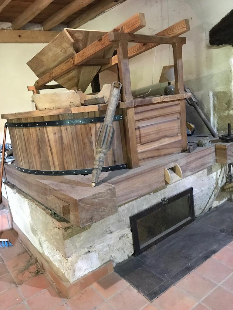Intérieur Moulin de Seissan