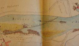 Construire un seuil sur l'Ardèche au XIXe siècle